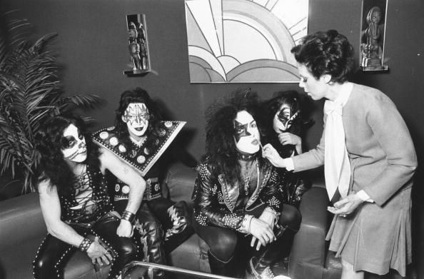 Peter Criss Ace Frehley Paul Stanley And Gene Simmons Of The