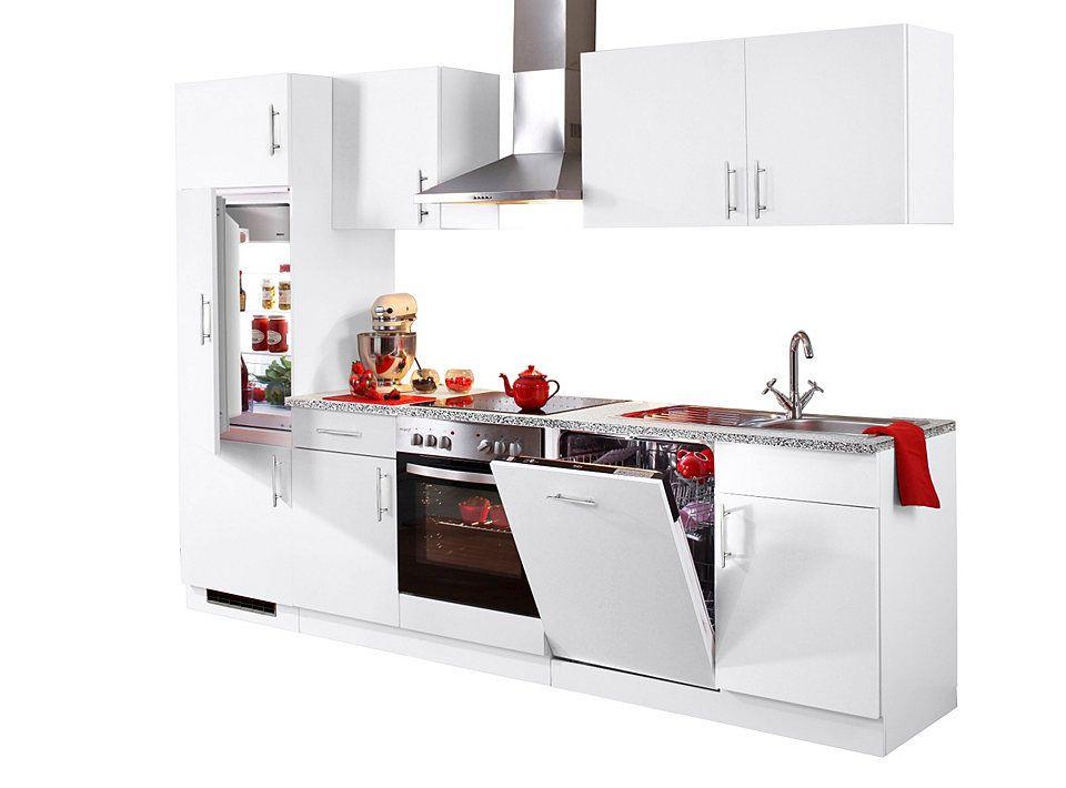 Küchenzeile »Kiel«, Breite 280 cm Jetzt bestellen unter