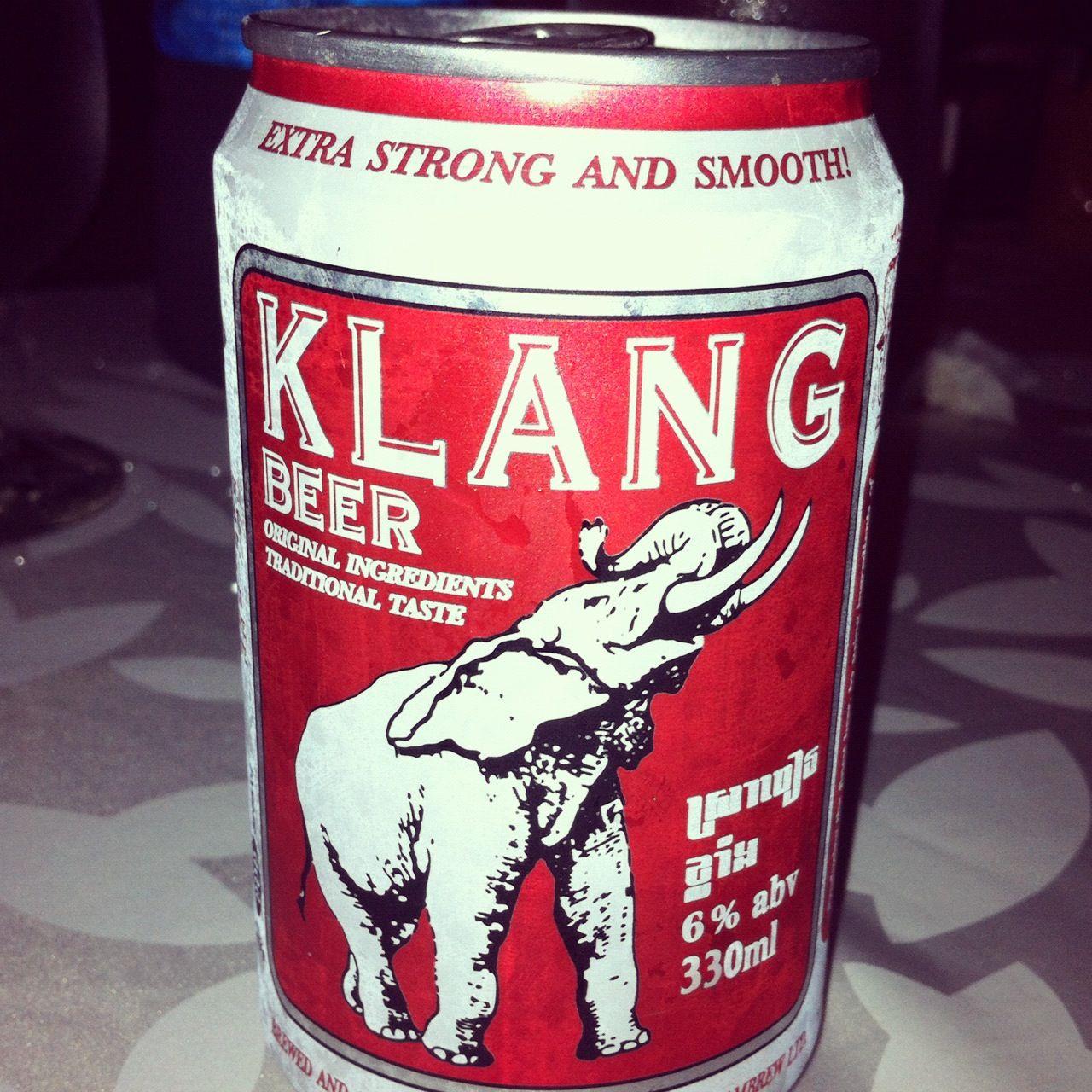 Klang Beer From Cambodia Klang Strong Beer Cerveja Traditional Taste Beer