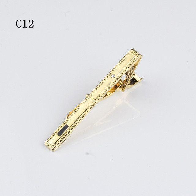 f9dad6d07ad8 New Arrivel Simple Metal Silver Tie Clip For Men Wedding Necktie Tie Clasp  Clip Gentleman Tie
