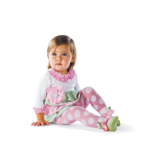 Seersucker Dress & Tight Set from Mud Pie