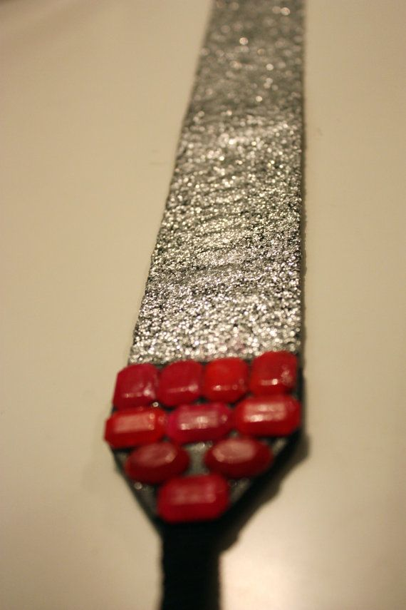 Sparkle camera strap - etsy