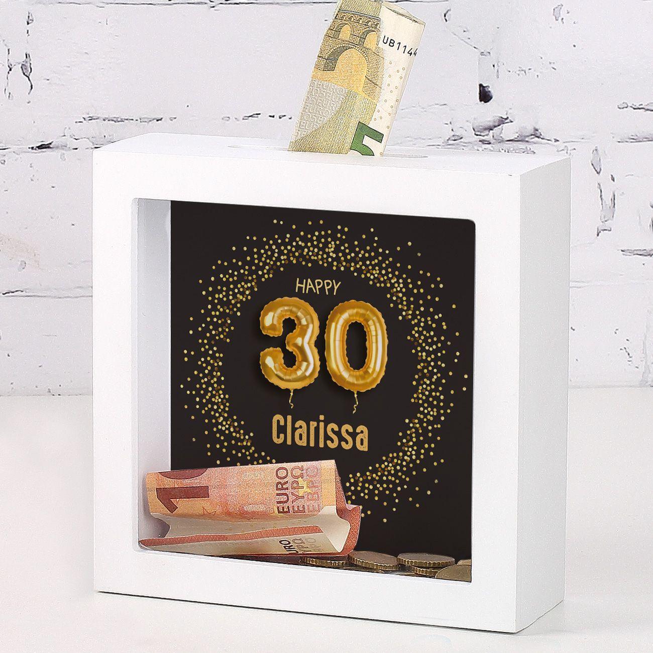 Geldgeschenke 30 Geburtstag