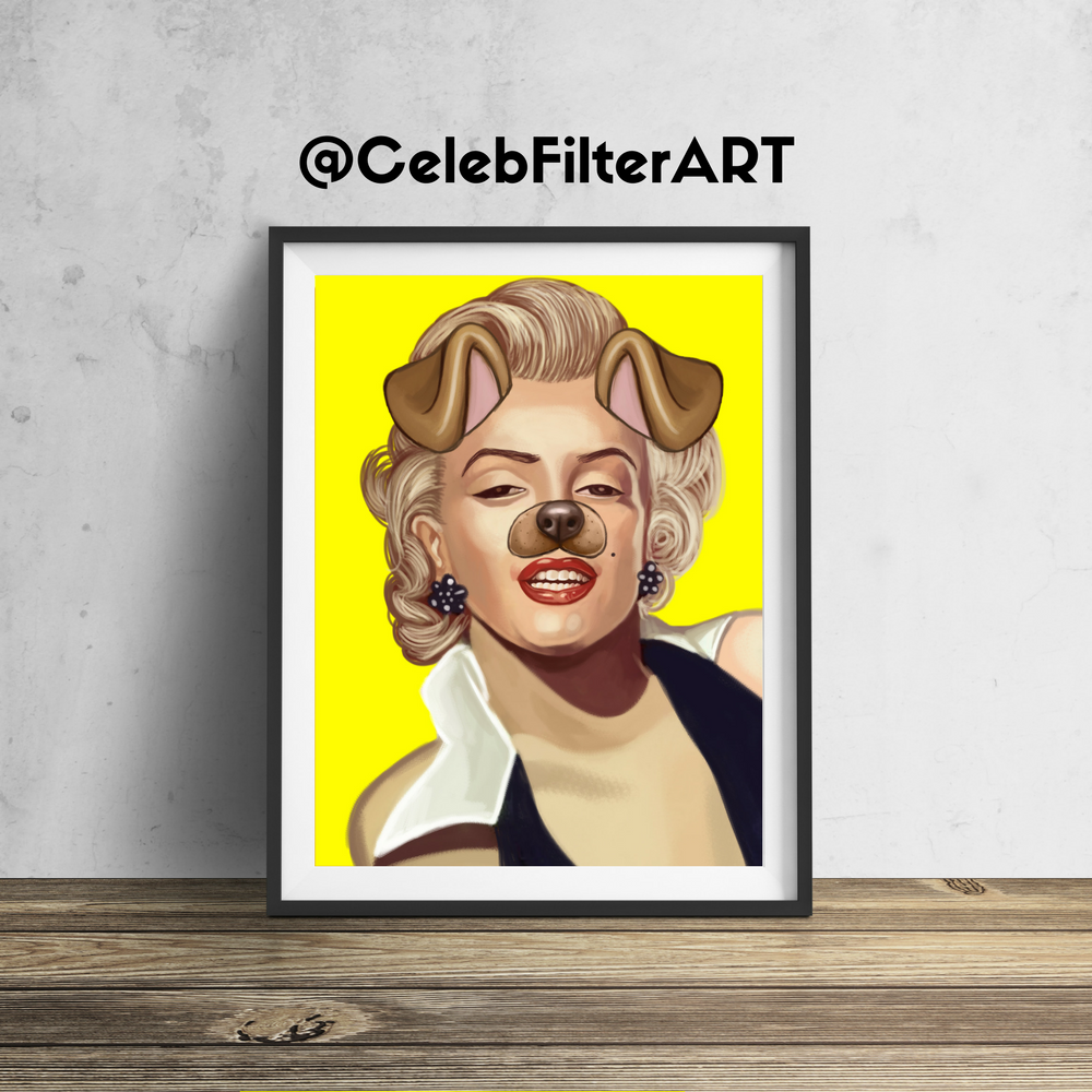CelebFilterArt donates a portion of all profits to a non-profit ...