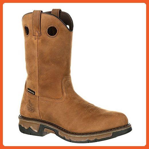 621954a5c53 Georgia GB00103 Mid Calf Boot, Dark Brown, 10 W US - Boots for women ...