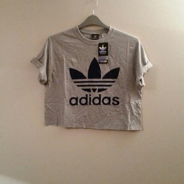 Unisex personalizzati adidas top scollato t - shirt festival bottini (19