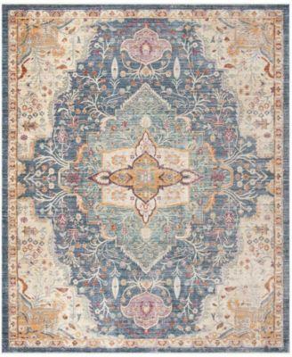 Safavieh Illusion Blue And Purple 8 X 10 Area Rug Purple Area