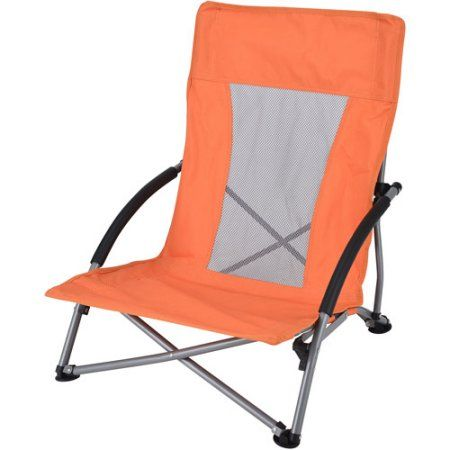 Ozark Trail Low Profile Chair Orange Profile Chairs Ozark