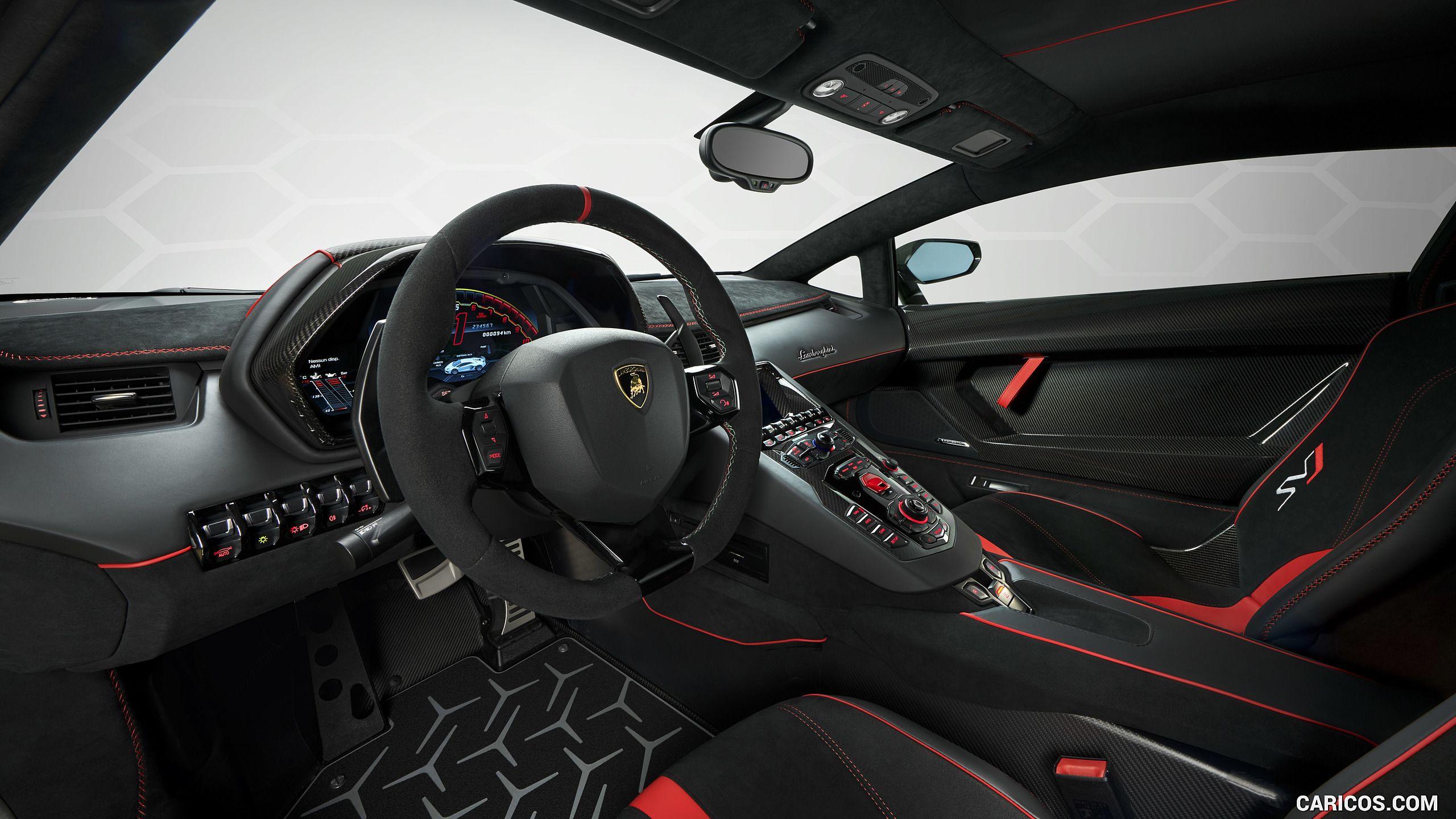 2019 Lamborghini Aventador Svj Lamborghini Aventador
