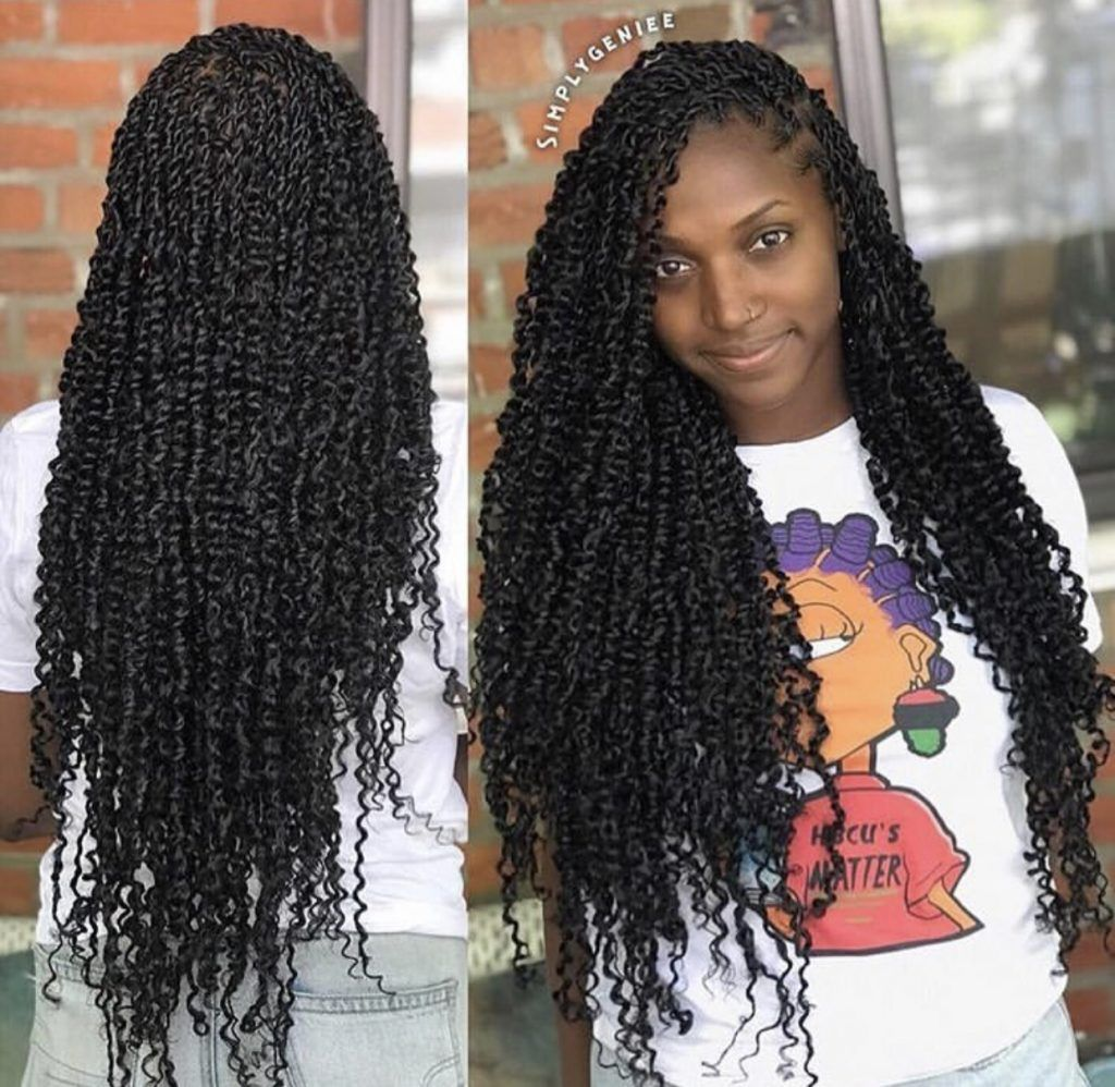 Passion Twists Hairstyles: 10 Styles to Inspire your Next Look - Jorie Hair