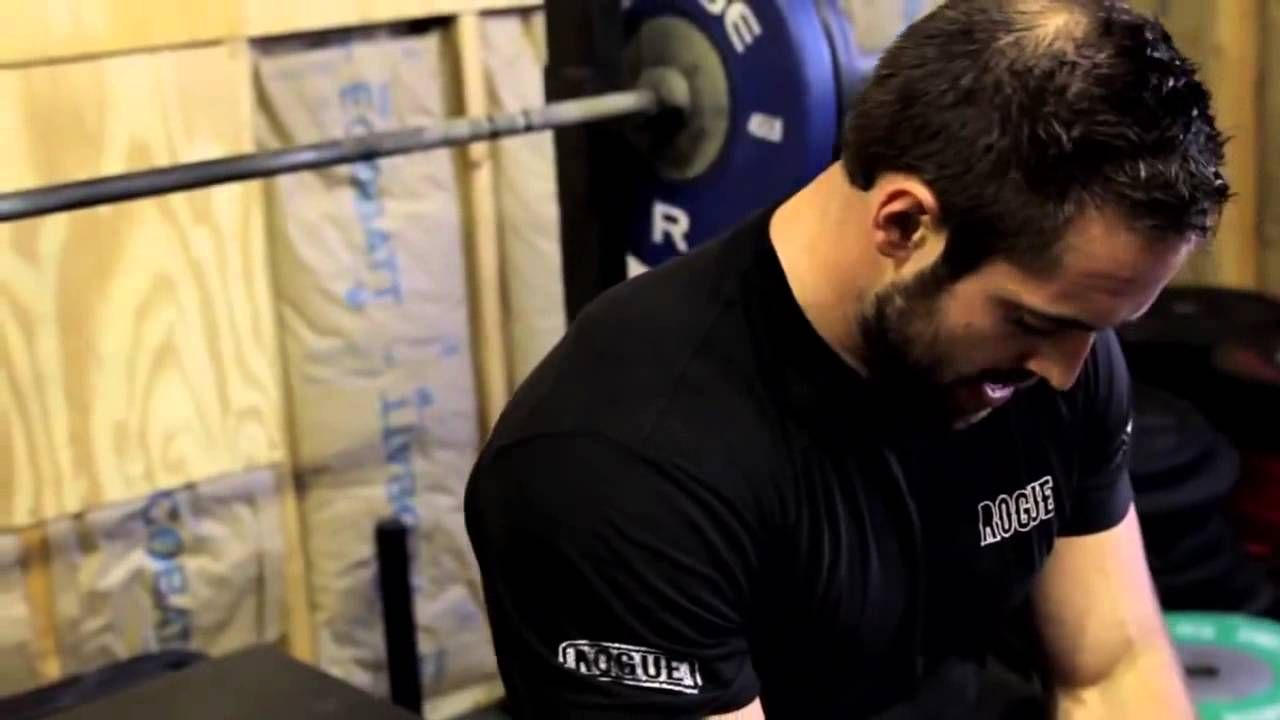 Rich Froning Workout Bench Press And Pull Ups Crossfit Crossfit