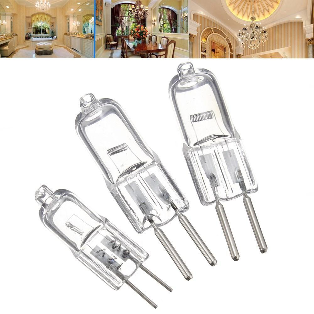 G4 5w 35w 50w Bi Pin Light Bulb Replacement Halogen Lamp Warm White 12v Halogen Lamp Bulb G4 Led