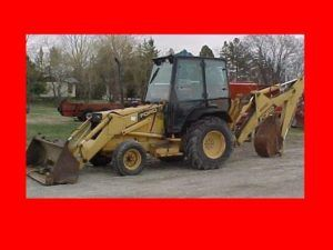 Awesome , New Holland Ford 455c 555c 655c Tractor Loader Backhoe