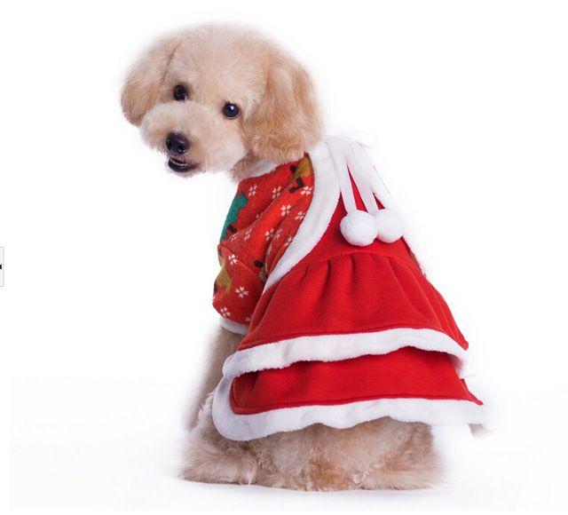 Pet Neujahr Kleid Hund Weihnachten Kostüm Hund Kleidung Outwear ...