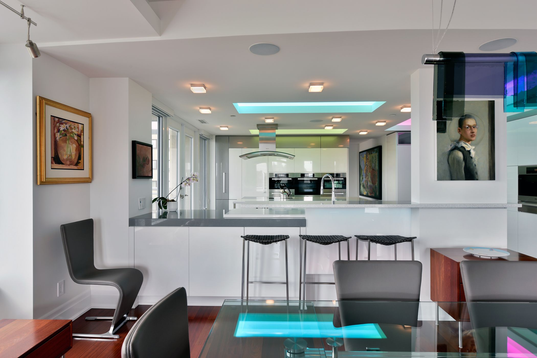 A Luxury Condo In Downtown Ottawa Led Lighting Used