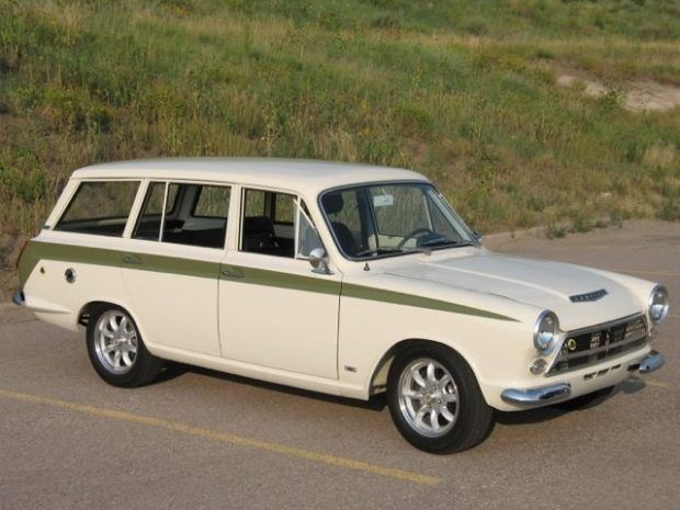 Nicely Done Lotus Tribute 1965 Ford Cortina Wagon Classic Cars Classic Cars Vintage Wagon
