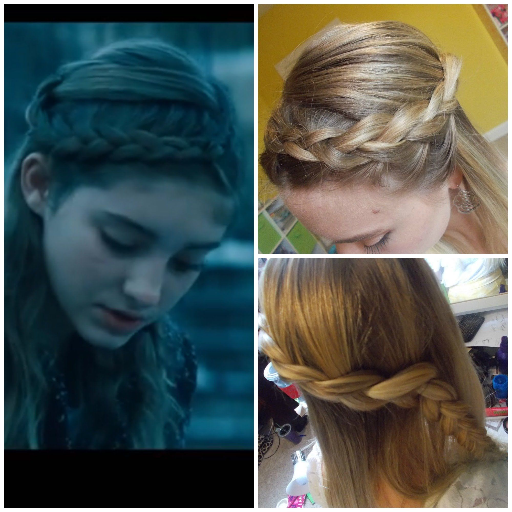 Wondrous 1000 Images About Hunger Games Hair On Pinterest Short Hairstyles Gunalazisus