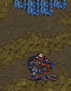 Student reflection (blog post) on creating a #starcraft map