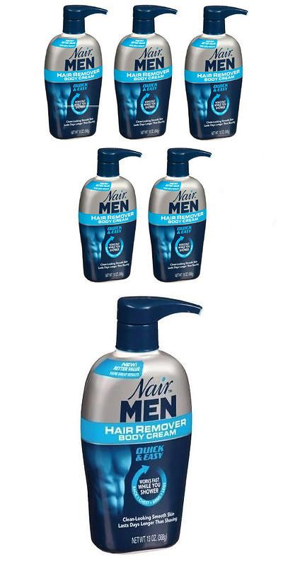 Hair Removal Creams And Sprays 5 Pack Nair Men Hair Removal