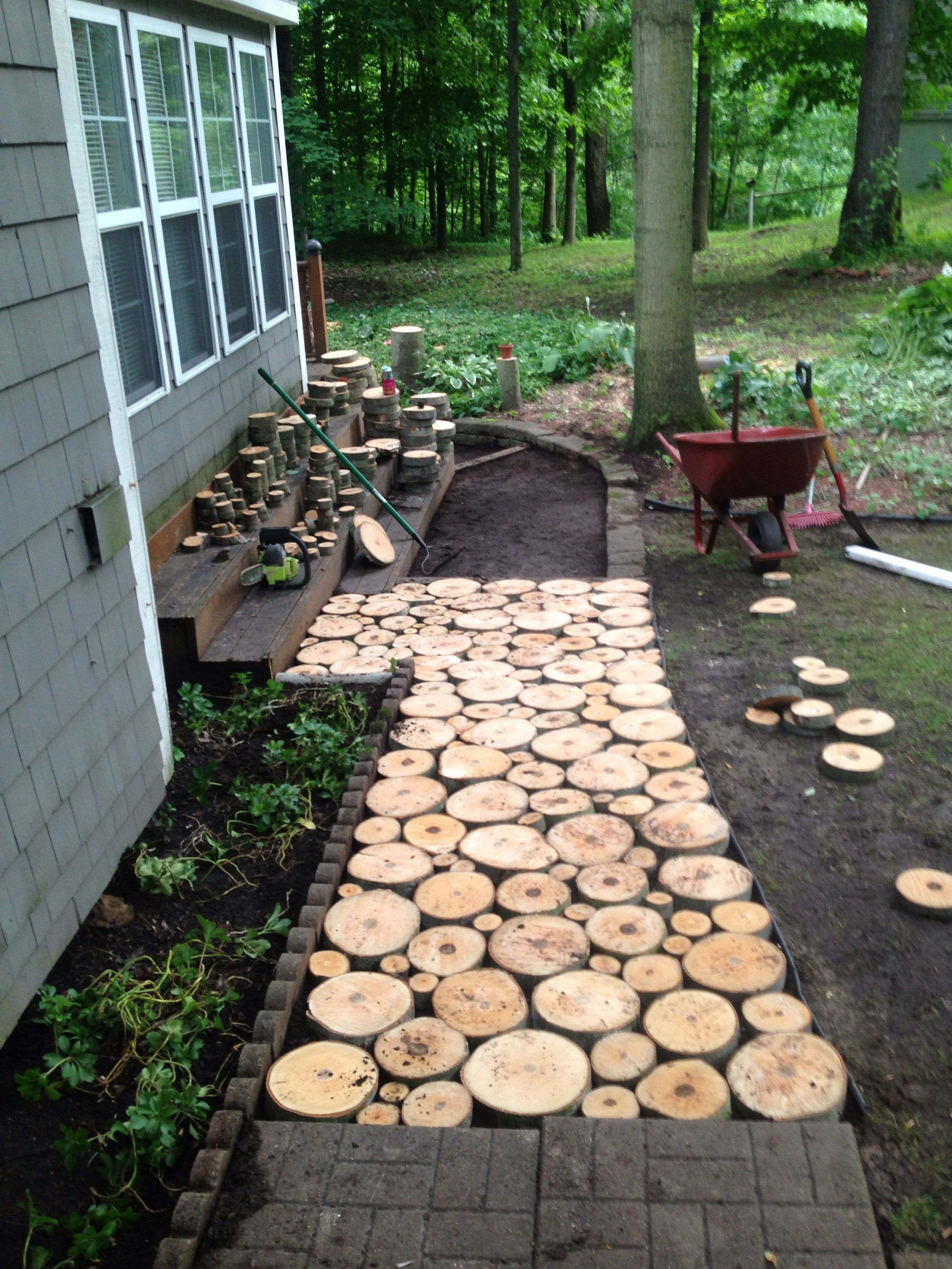 Shaded Side Yard Landscaping