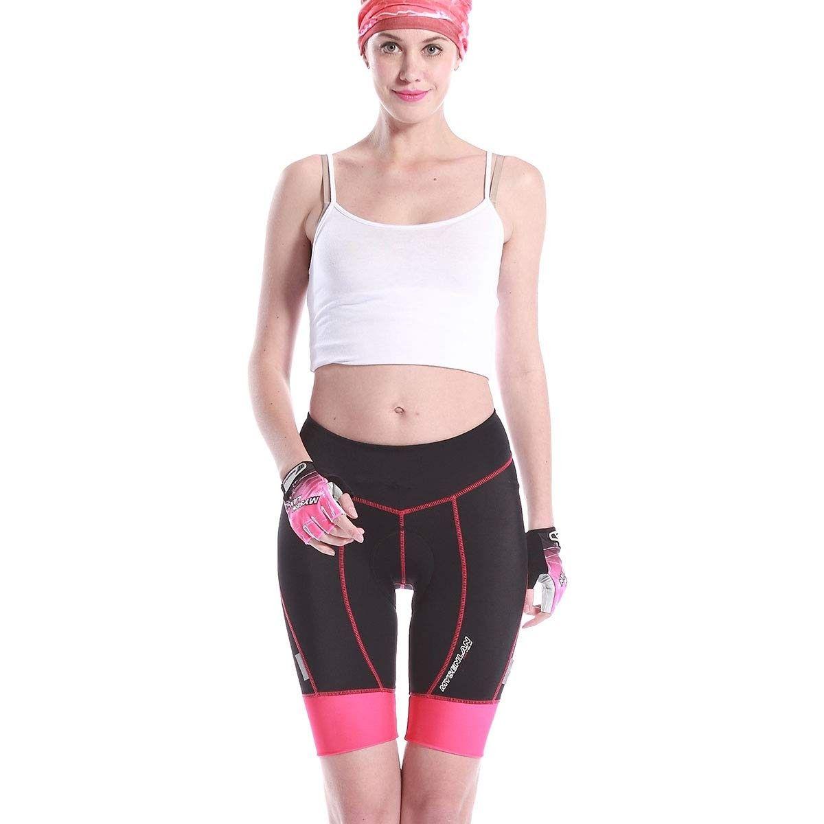 Women S Cycling Compression Shorts 3d Padded Bike Bicycle Pants Riding Tights Pink Cr18kyt6cmq Outdoor Clothing Bicycle Pants Riding Tights Cycling Women