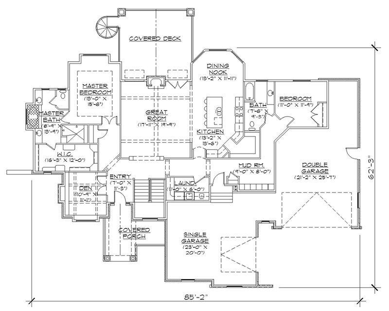 Rambler Floor Plans Professional House Floor Plans Custom