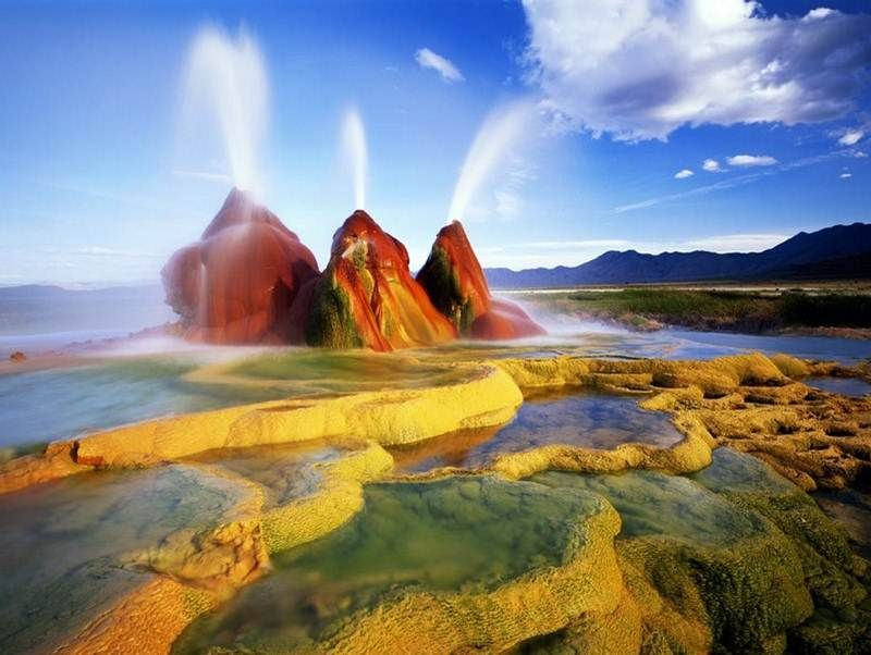Geysers - Black Rock Desert, Nevada