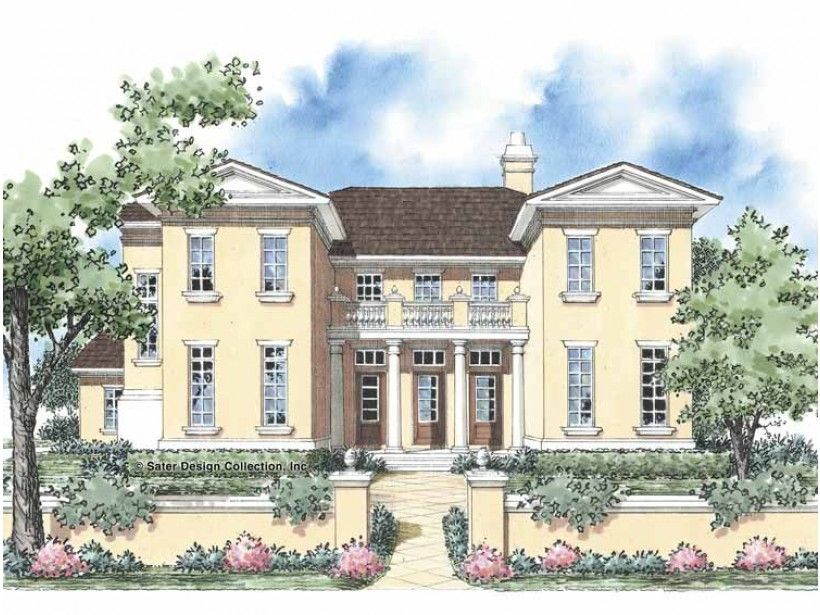 European Style House Plan 5 Beds 3.5 Baths 3578 Sq/Ft
