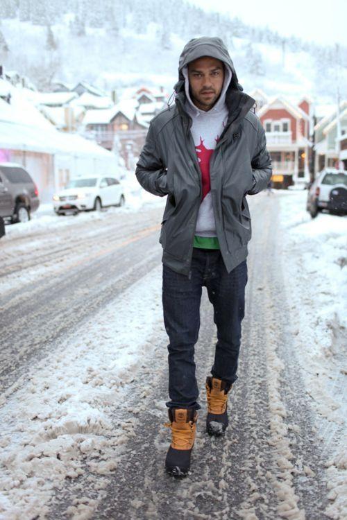 Зимняя мода Джесси