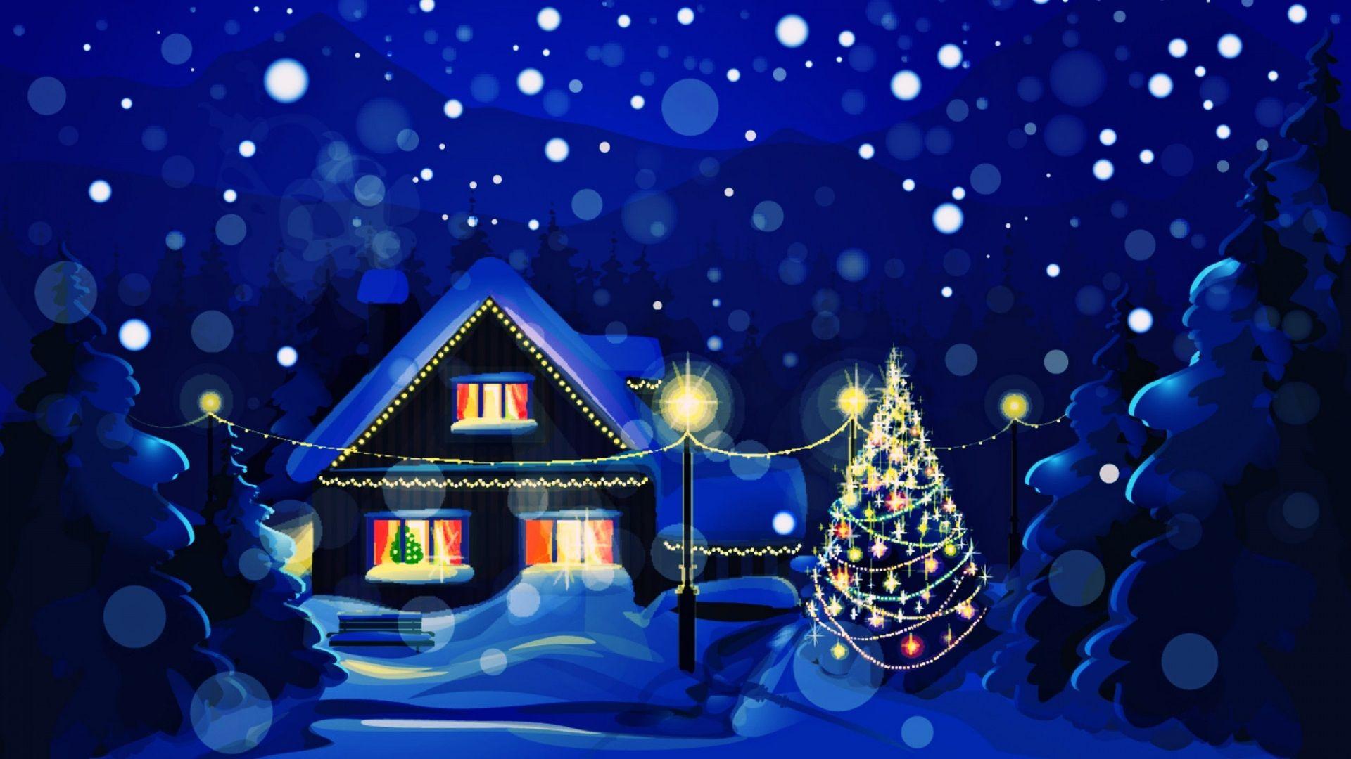 High Definition Christmas Screensavers Wallpaper Natal Papel De Parede Natalino Arvore De Papel De Parede