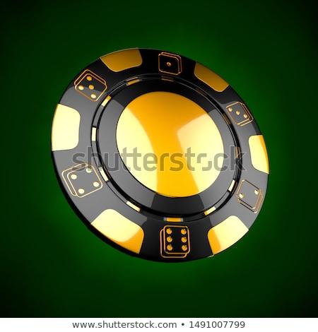 Casino Token Classic Casino Game 3d Chips Gambling Concept Black Poker Chips With Golden Design Elements On Gre Casino Token Casino Games Stock Illustration