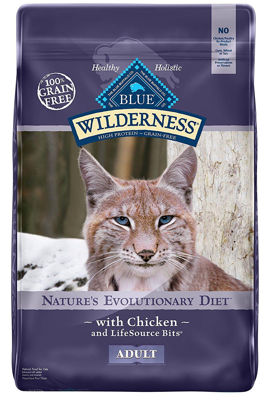 Amazon Com Blue Wilderness Adult Grain Free Chicken Dry Cat Food 12 Lb Dry Pet Food Pet Supplies Best Cat Food Cat Food Brands Cat Food