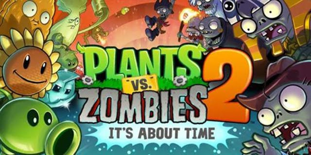 Plants Vs Zombies 2 Mod Apk Money Gems V7 6 1 Data Plants Vs Zombies Zombie Wallpaper Free Android Games