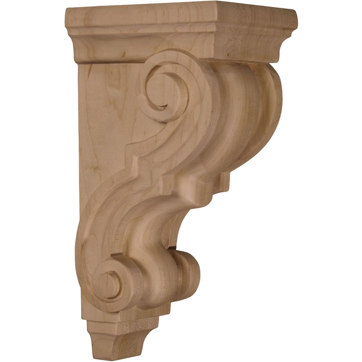 4 X X Medium Traditional Wood Corbel