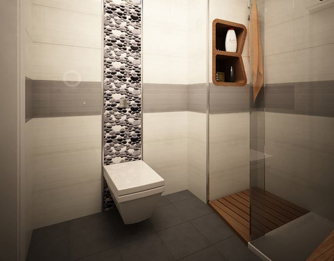 sunday july carrelage meuble salle bain bains octogonal style ...