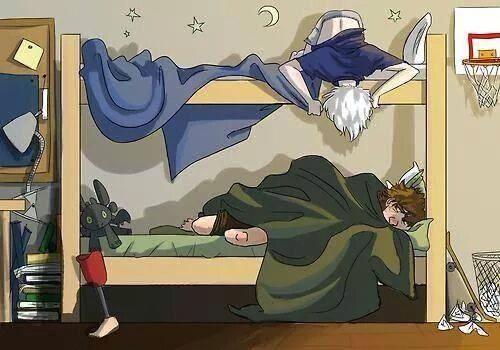 Jack quit it ... I'm trying to sleep