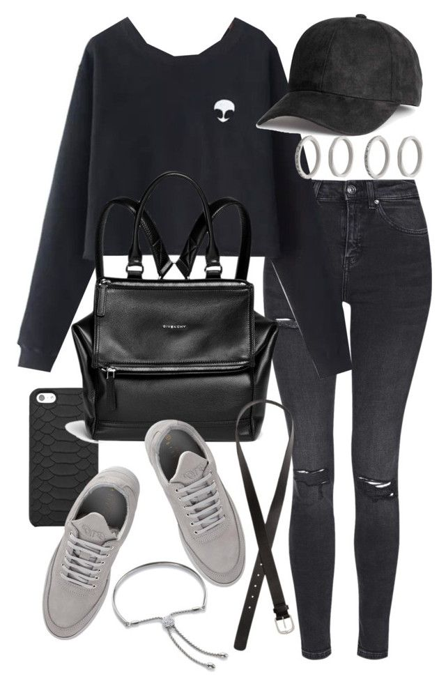 """Untitled #19789"" by florencia95 ❤ liked on Polyvore featuring Topshop, GiGi New York, Chicnova Fashion, Givenchy, Filling Pieces, Forever 21, H&M and Monica Vinader"