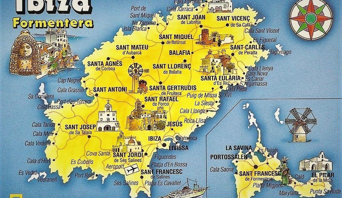 Cala Salada Ibiza Mapa.Hiking From Cala Salada To San Antonio Seeibiza Com
