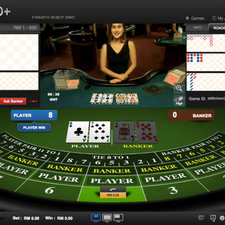 Malaysia Live Casino HoGaming Baccarat Game Games