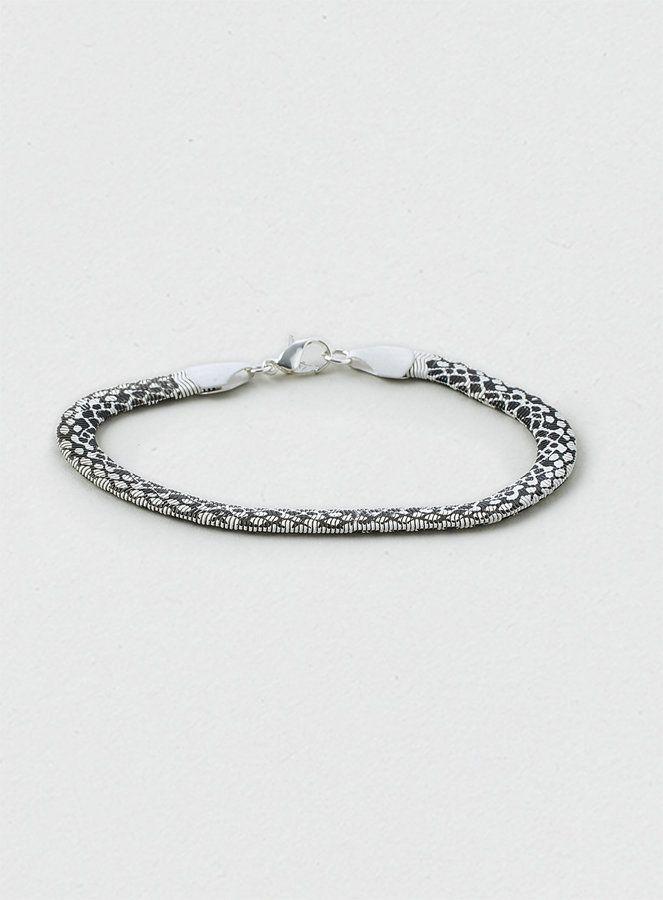026e2c2f8 Topman Aztec Print Snake Chain Bracelet on shopstyle.com   jewels ...
