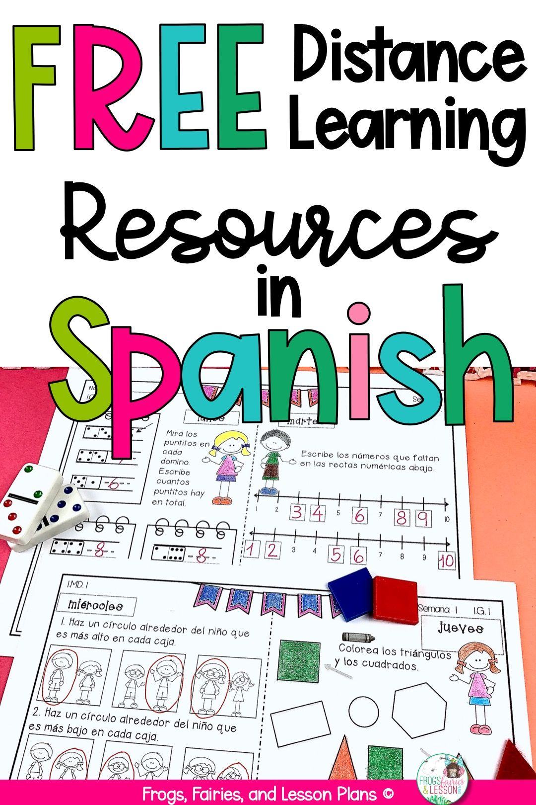 Free Spanish Resources for Distance Learning