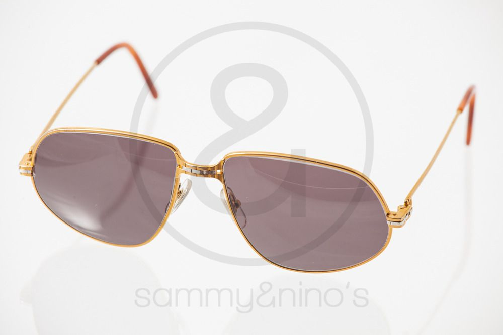 5eb51318cedd Image of Cartier Panthere gold 59-16    Vintage Sunglasses
