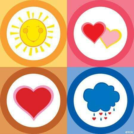 Care Bear Belly Badges | Care Bears Costume Inspiration ...