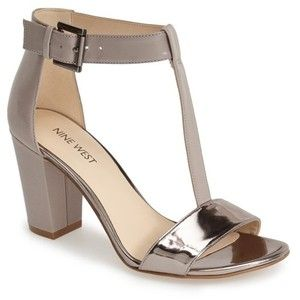 Nine West 'Brannah' T-Strap Sandal (Women)