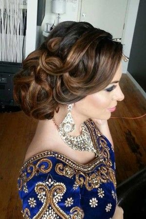 35 Hairstyles For Wedding Guests Hair Styles Wedding Guest Hairstyles Indian Wedding Hairstyles