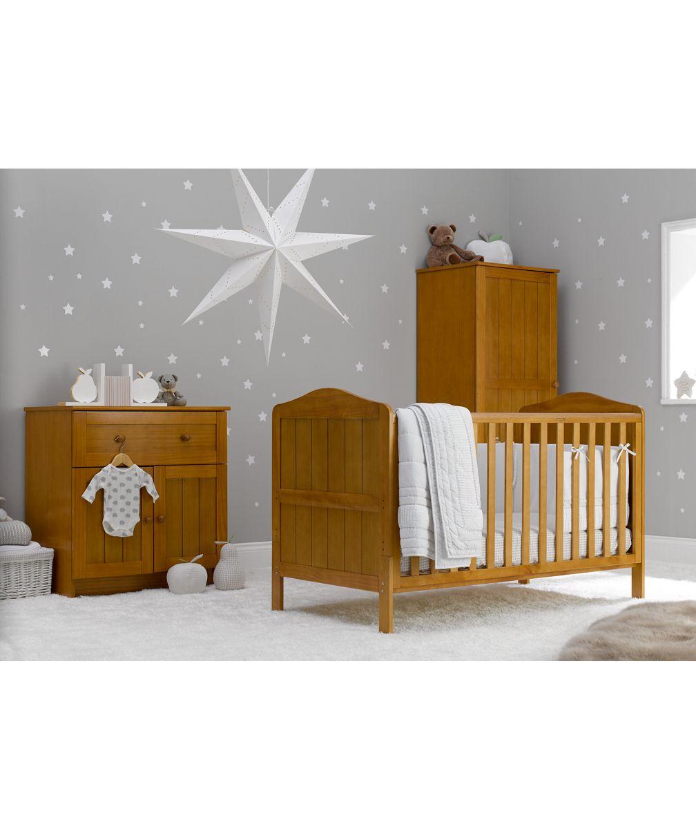 Mothercare Darlington 3 Piece Nursery Furniture Bundle   Antique.