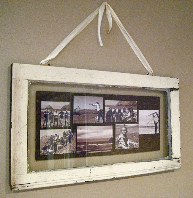 Single Pane Window Picture Frame Window Crafts Diy Window Old Window Frames