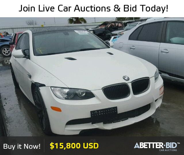 Salvage 2013 BMW M3 For Sale