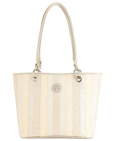 Giani Bernini Handbag, Annabelle Patchwork Tote  Sale $66.99