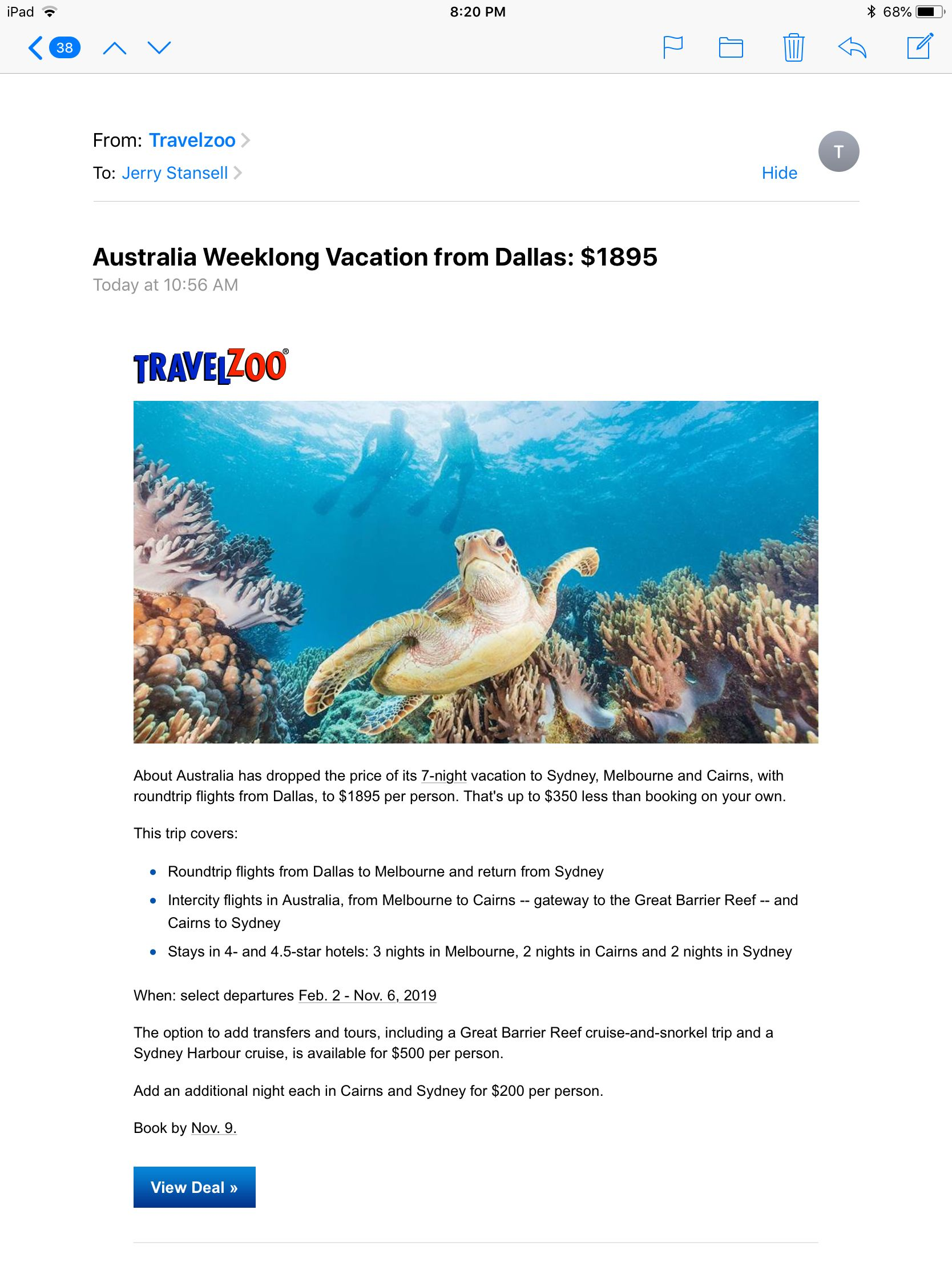 Travel image by Robin Stansell  Travelzoo Vacation